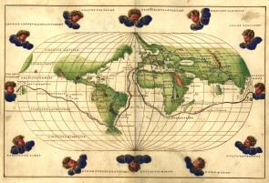 Battista Agnese Worldmap
